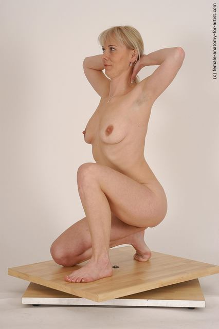 Females posing nude on knees charming topic