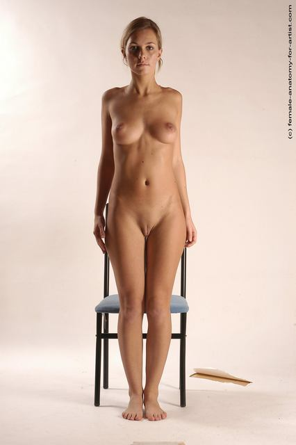 The excellent female stand in the nude topic
