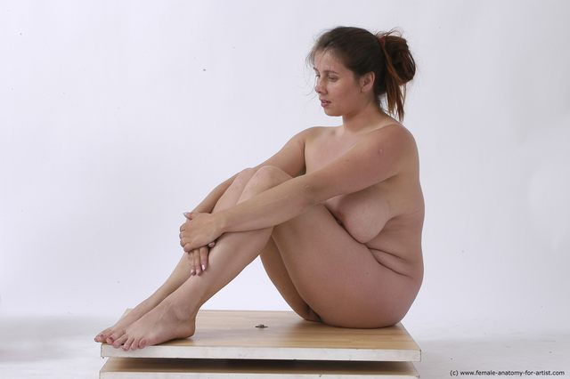 Think, that nude art model sitting absurd situation