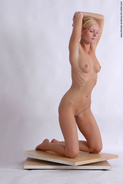 Real female anatomy nude pose — 12