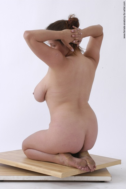 Join. Females posing nude on knees