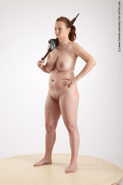 Nude female martial arts-5727