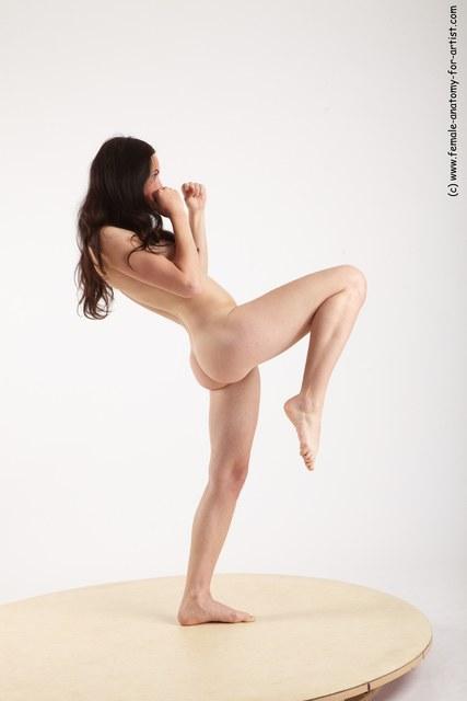 Nu Artistes Martiaux Féminins