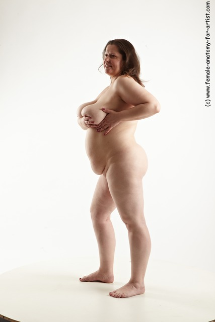Woman Full Nude Standing Anatomy - Image 4 Fap-1920