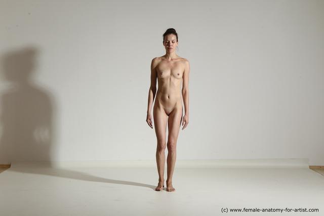 Nude yoga women