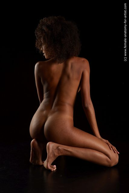 Nude Woman Black Slim medium black Standard Photoshoot