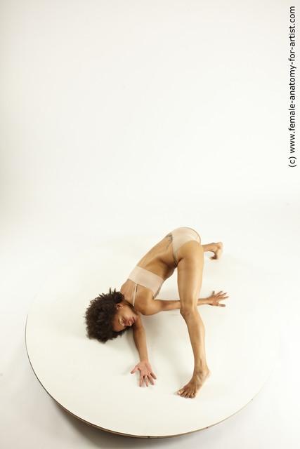 Underwear Woman Black Athletic medium black Multi angle poses