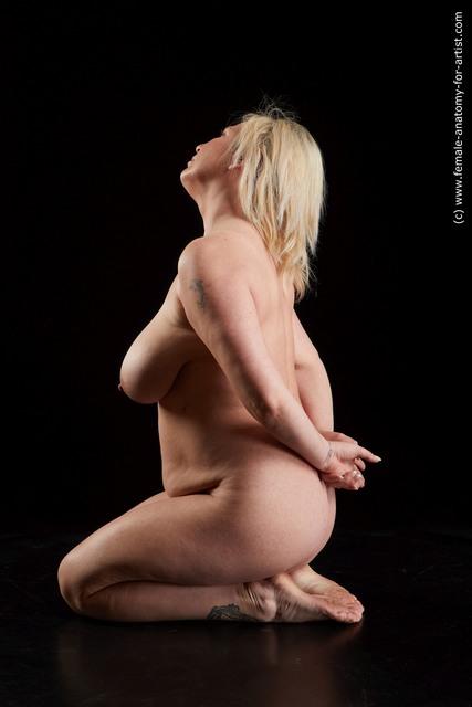 Nude Woman Standard Photoshoot