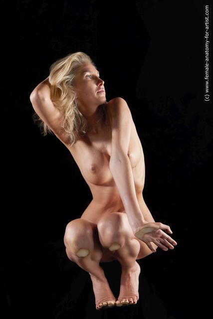 Nude Woman Multi angle poses