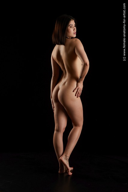 Nude Woman Standard Photoshoot