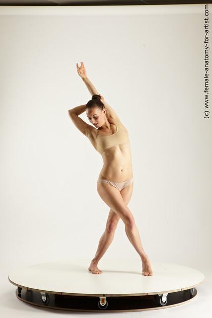 Underwear Woman Multi angle poses