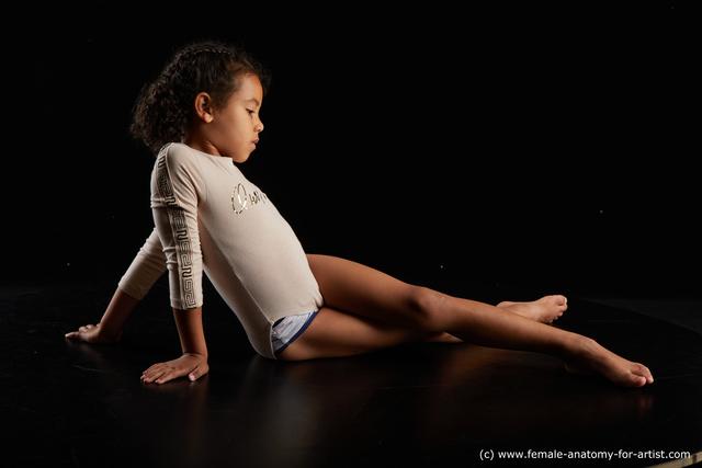Sportswear Woman Black Slim long black Standard Photoshoot