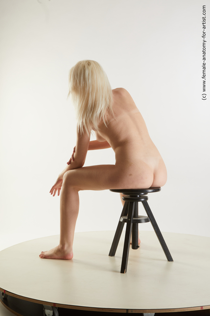 Nude Woman White Average medium blond Standard Photoshoot