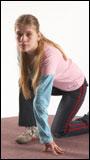Ida Kneeling