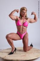 Photo Reference of alana kneeling pose 24