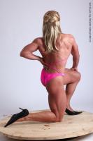 Photo Reference of alana kneeling pose 12