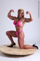 Photo Reference of alana kneeling pose 17