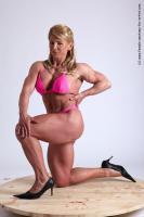 Photo Reference of alana kneeling pose 16