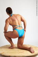 Photo Reference of laura kneeling pose 20
