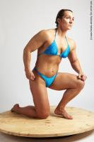 Photo Reference of laura kneeling pose 24