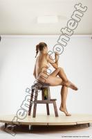 Photo Reference of ingrida sitting pose 08c