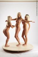 Photo Reference of 3women pose 01