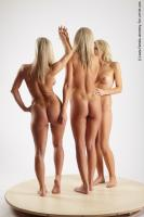 Photo Reference of 3women pose 08