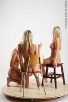 Photo Reference of 3women pose 12