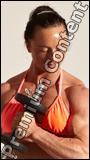 Angelina Bodybuilding poses