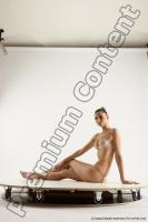 Photo Reference of evelina sitting pose 02c