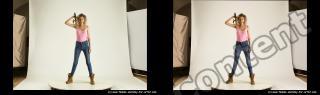 Photo Reference of stereoscopic shenika pose 609
