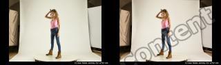 Photo Reference of stereoscopic shenika pose 610
