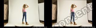 Photo Reference of stereoscopic shenika pose 614