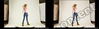 Photo Reference of stereoscopic shenika pose 616