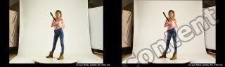 Photo Reference of stereoscopic shenika pose 617