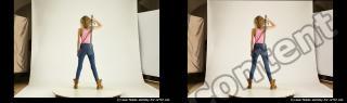 Photo Reference of stereoscopic shenika pose 613