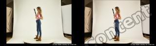 Photo Reference of stereoscopic shenika pose 618
