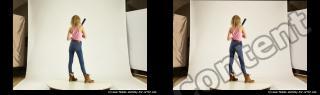 Photo Reference of stereoscopic shenika pose 621