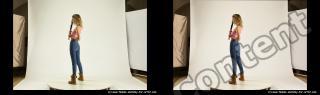 Photo Reference of stereoscopic shenika pose 619
