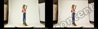 Photo Reference of stereoscopic shenika pose 622