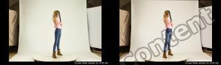 Photo Reference of stereoscopic shenika pose 623