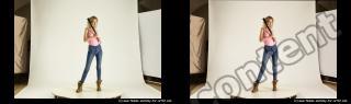 Photo Reference of stereoscopic shenika pose 624