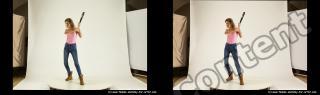 Photo Reference of stereoscopic shenika pose 626