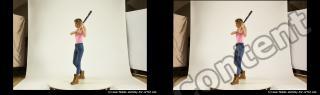 Photo Reference of stereoscopic shenika pose 627