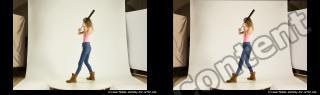 Photo Reference of stereoscopic shenika pose 628