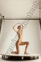 Photo Reference of eula kneeling pose 03